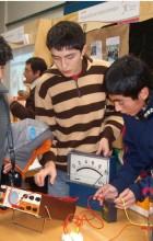 Estudiantes en feria de talentos udec