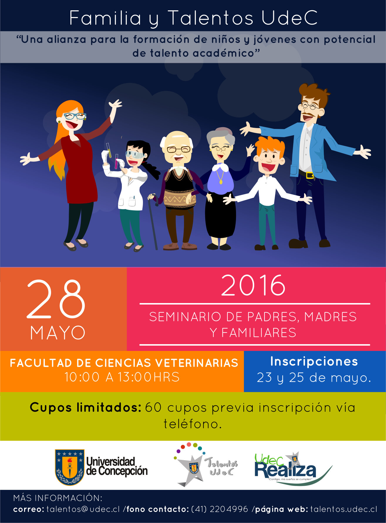 seminario de padres madres y familiares