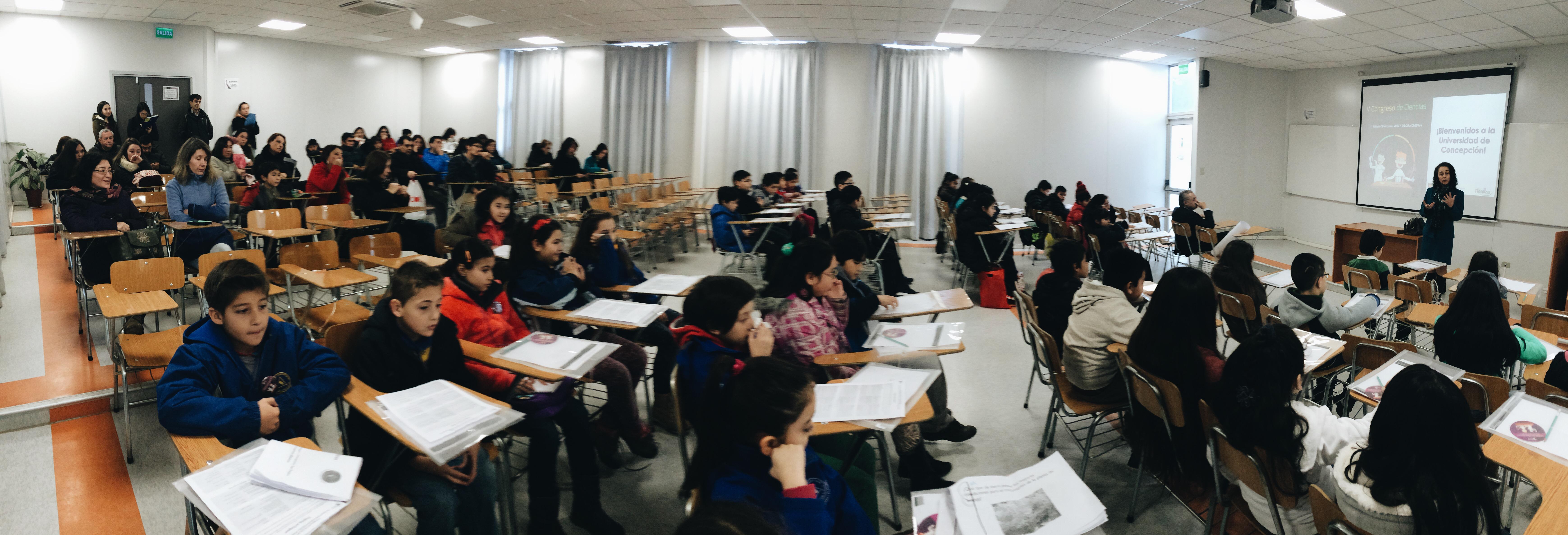 """V Congreso de Ciencias, Talentos UdeC: """"Un espacio para compartir preguntas y proyectos para responderlas"""""""