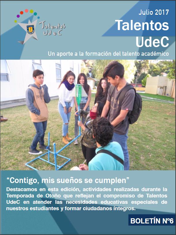 Se publica nueva versión del Boletín de Talentos UdeC